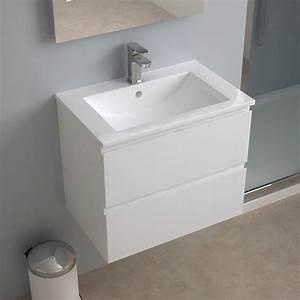 Meuble salle de bain 60 cm faible profondeur plan for Meuble salle de bain profondeur 60 cm