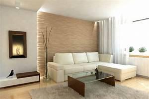 Wandgestaltung Wohnzimmer Erdtöne : wandgestaltung im wohnzimmer 85 ideen und beispiele ~ Sanjose-hotels-ca.com Haus und Dekorationen