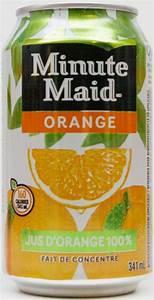 MINUTE MAID-Orange juice-341mL-Canada