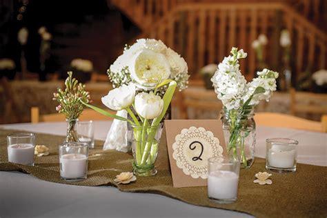 Barn Wedding Centerpieces :  Barn Weddings Bridalguide