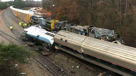 Fatal Amtrak, Csx Train Collision In S. Carolina
