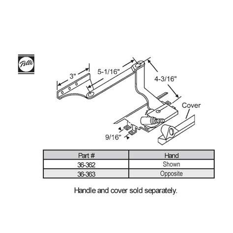 pella sill mounted casement operator