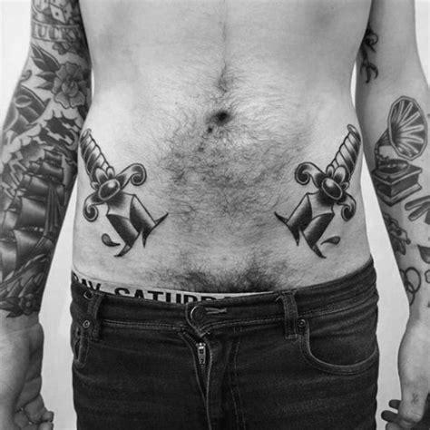stomach traditional dagger tattoo golfiancom