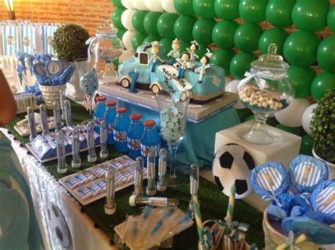 argentina futbol birthday party ideas photo