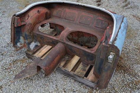 austin healey   rear body fenders bulkhead