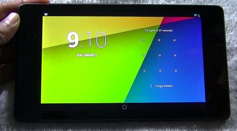 forgot my android password forgot password pattern unlock of android tablet my