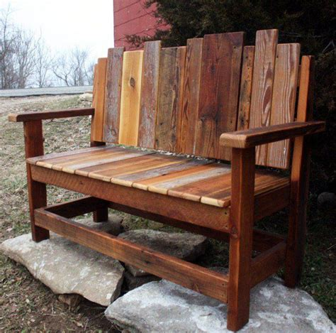 Wood Porch Bench - 18 beautiful handcrafted outdoor bench designs exactly