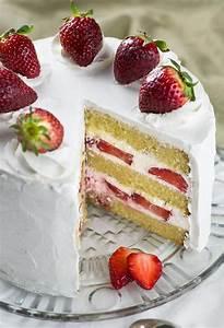Strawberry Shortcake Cake - OMG Chocolate Desserts