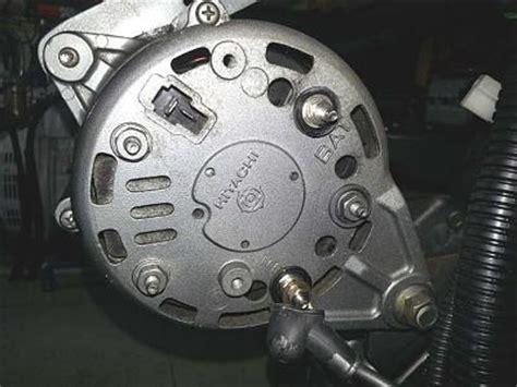 yanmar hitachi alternator with battery isolator trawler forum