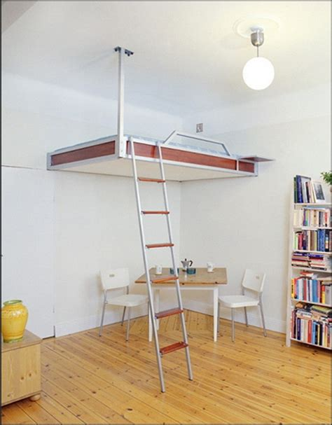 space bunk beds incredible loft bed concept ceiling hanging for space saving bunk bed with simple dinning nook