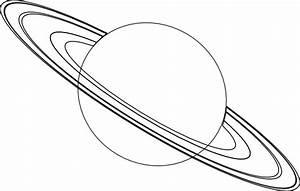 Coloriages de l'espace - Planète Saturne