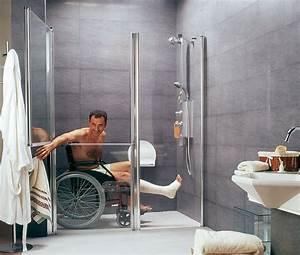 Salle De Bain Handicapé Norme. salles de bain pr fabriqu es pour les ...