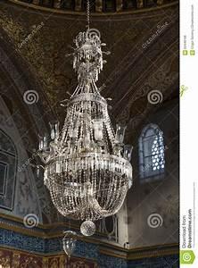 Huge Chandelier at Throne Room Inside Harem Section Of ...