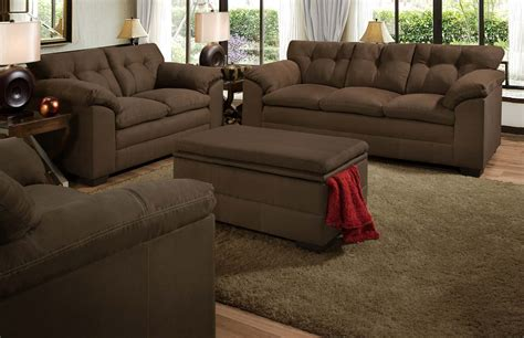 Global Furniture Usa 6765 Sofa Set Micro Fabric