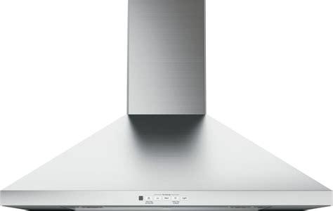 ge jvwsjss   wall mount chimney hood  recirculating option  cfm blower