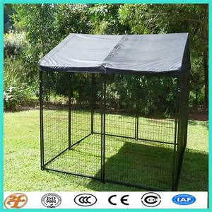 temporary large animal crate dog boarding kennel cages With temporary dog kennel