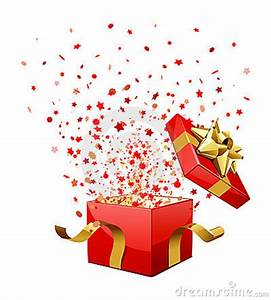 Surprise Gift Box Clipart