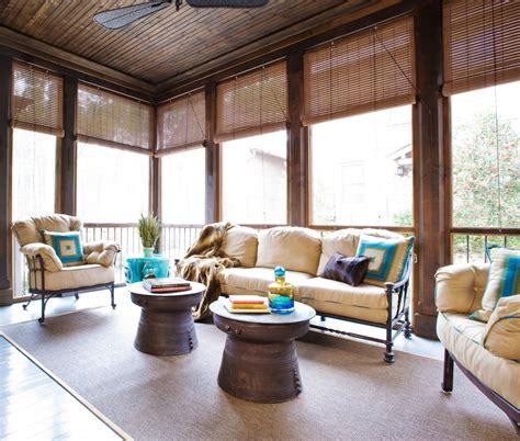 bamboo porch shades ikea bamboo blinds homesfeed