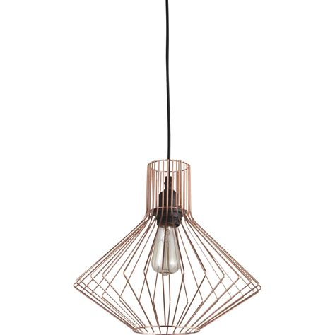 suspension contemporain dalma m 233 tal cuivre 1 x 60 w brilliant leroy merlin