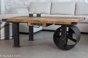 New industrial-style furniture range from BARAK'7 - The