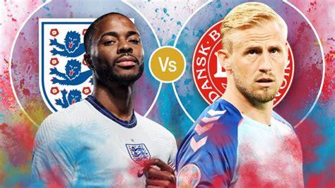 Gjysmëfinalja Angli - Danimarkë, formacionet e mundshme ...