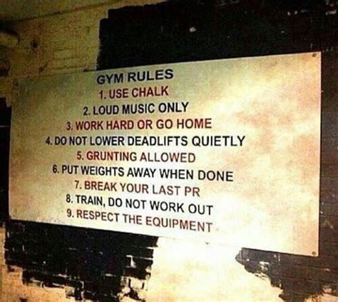gym rules pictures   images  facebook