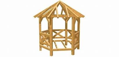 Pavillon Holz Eck Bauen Selber Bauplan Bauanleitung