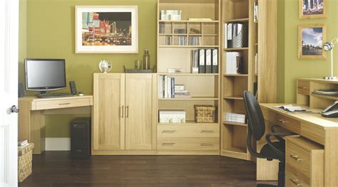 Modular Home Office Furniture by Contemporary Oak Modular Office Furniture Contemporary