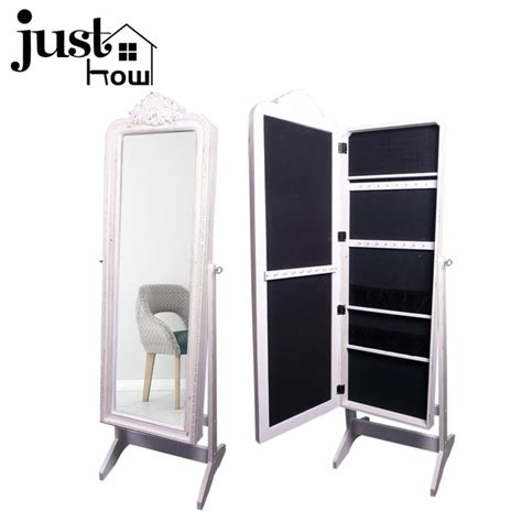 Large Mirror Jewelry Armoire by China Best Jewelry Cabinet Large Mirrored Jewelry Armoire