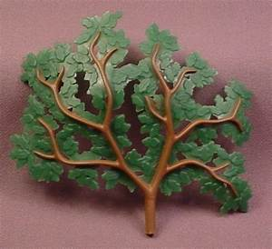 Playmobil Large Dark Green Tree Branch With Oak Leaves ...