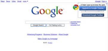 Download Google as Homepage