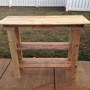 Side Table Out of Pallet Wood Pallet Ideas: Recycled
