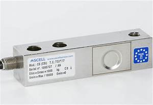 Buy Load Cell Shear Beam 750 Kg  Stainless Steel  Ip68