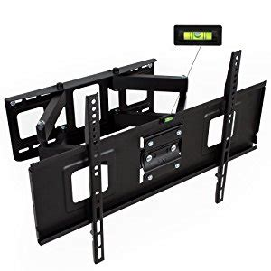 support mural tv pivotant inclinable tectake support mural tv max 120 kg universel inclinable