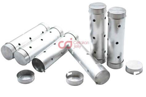 Cari Cetakan Lontong Aluminium cetakan aluminium lontong 1 set 6 pcs cetakan jelly