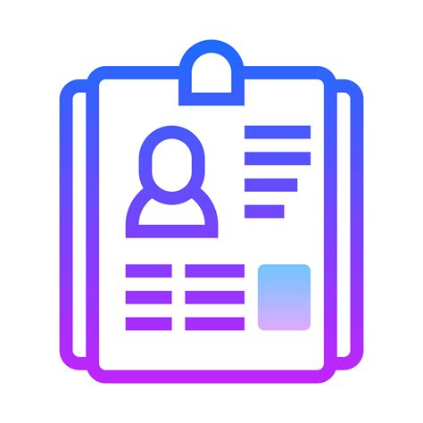resume icons for free in png and svg