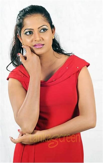 Sri Lankan Actress Tele Nadeeshani Models Nadeesha