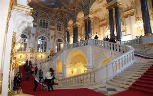 The Jacob Staircase Inside The Winter Palace