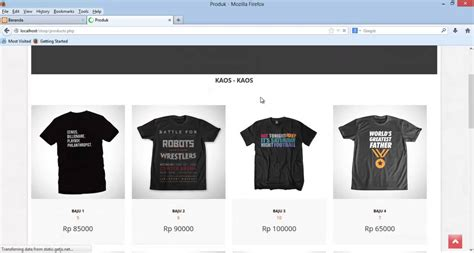 Tutorial Make A Simple Website E-commerce With Php Mysql
