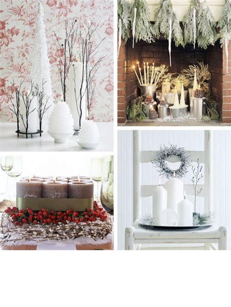 cool christmas candles decoration ideas digsdigs