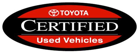Toyota Certified Pre Owned Warranty by Toyota Certified Used Vehicles In Spokane Certified Pre