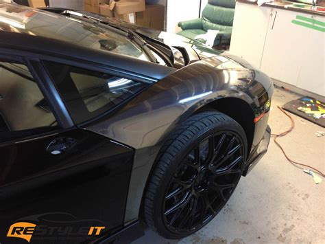 black chrome lamborghini aventador vehicle customization