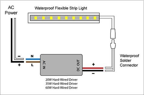 Light Waterproof Led Strip Driver Adapter