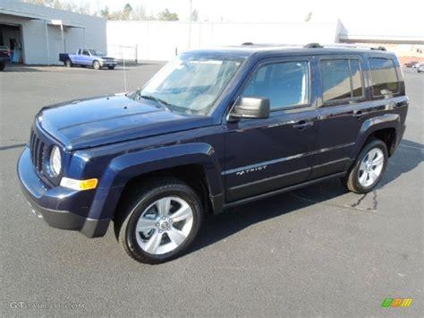 blue jeep patriot 2012 true blue pearl jeep patriot limited 4x4 62491158