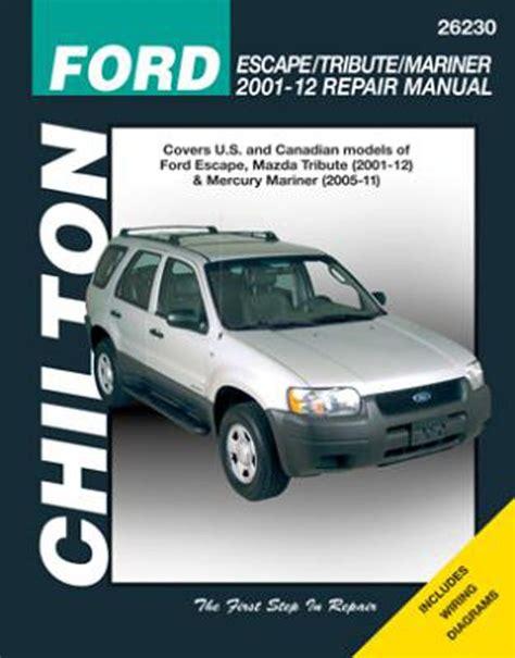 online auto repair manual 2008 mazda tribute lane departure warning ford escape mazda tribute chilton repair manual 2001 2012 hay26230
