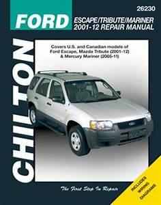 Ford Escape  U0026 Mazda Tribute Chilton Repair Manual  2001