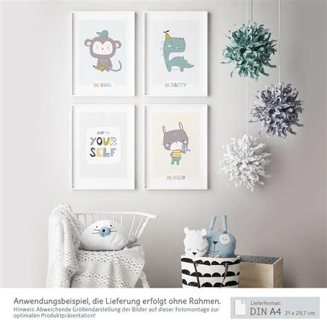 Kinderzimmer Deko Hase by Skandinavische Kinderzimmer Deko 4er Poster Set Kullaloo