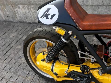 Modified Bmw K100 by Bmw K1 Cafe Racer Modified Original Rear Suspension