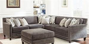 grey sofa with nailheads buy steve silver torrey With buy grey sectional sofa