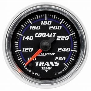 2 U0026quot  Trans Temp  100-260 F Fse  Cobalt - Gauges
